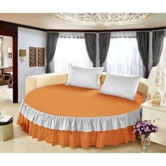 Постельное белье круглое «Медовое желание» 200