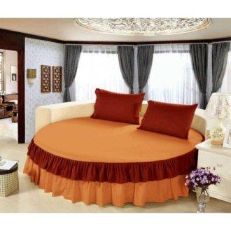 Постельное белье круглое «Медовый сон» 200