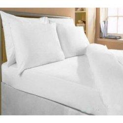 Белое постельное бельё Премиум Перкаль