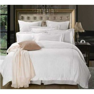 Белое постельное бельё Французские ушки