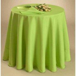 Скатерть Satin Salat на круглый стол