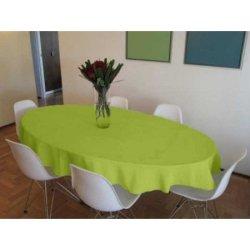 Скатерть Satin Salat на овальный стол