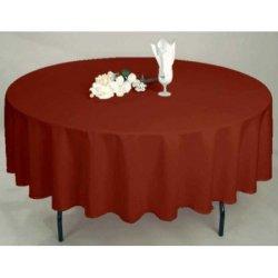 Скатерть Satin Vino на круглый стол