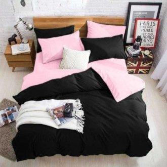 Постельное белье Black-Pink