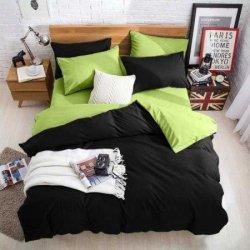 Подростковое постельное белье Black - Light-green