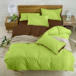 Подростковое постельное белье Brown - Light-green