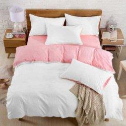 Подростковое постельное белье Pink-White