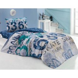 Подростковое постельное белье «Urban Lacivert»