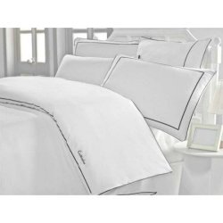 Белое постельное белье Cotton Box Mahur