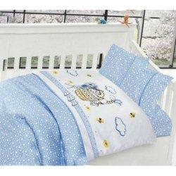 Детское постельное в кроватку First Choice Kitty сатин