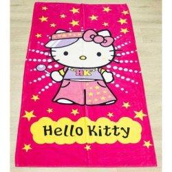 Детское пляжное полотенце Hello kitty