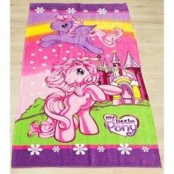Детское пляжное полотенце «My little pony»