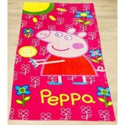 Детское пляжное полотенце «Peppa»
