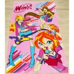 Детское пляжное полотенце Winx