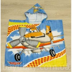 Полотенце пончо для детей «Planes»