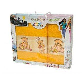 Набор махровых полотенец 3 bears yellow