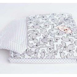 Одеяло стеганое «Зоопарк» с подушкой