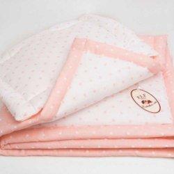 Одеяло детское «Персик» + подушка