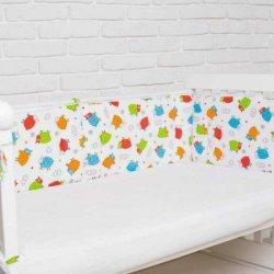 """Защита на детскую кроватку """"Баранчики"""""""