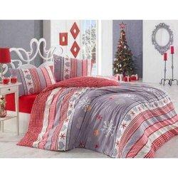Фланелевое постельное белье First Choice евро Snow