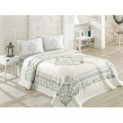 Пике постельное белье Cotton Box Lora Mint