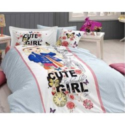 Подростковое постельное белье Cute Girl