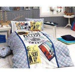 Подростковое постельное First Choice ранфорс Surf
