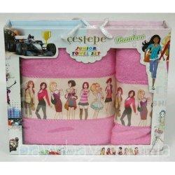 Набор махровых полотенец Girls Pink