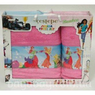 Набор махровых полотенец Fairies