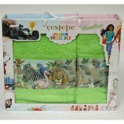 Набор махровых полотенец Jungle