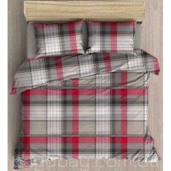 Фланелевое постельное белье First Choice евро Ayda
