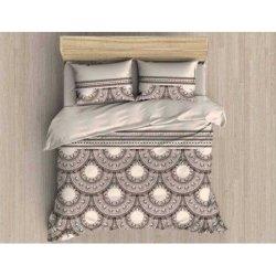 Фланелевое постельное белье First Choice евро Caribou
