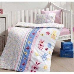 Детское постельное в кроватку First Choice сатин Sweet Toys Pembe