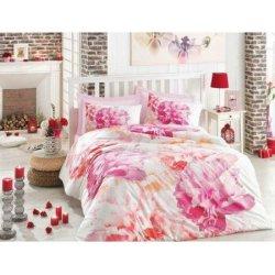 Постельное бельё 3D Cotton Box ранфорс Dreamy Pembe евро розовое