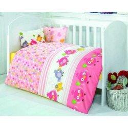 Детский комплект в кроватку Zuzu Pembe
