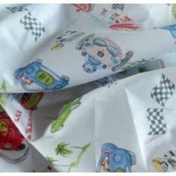 Детское постельное белье «Автогонки»