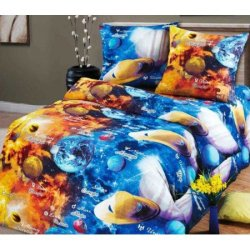 Детское постельное бельё Парад планет
