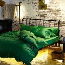 Постельное бельё Зелёный изумруд