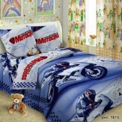 Детское постельное белье «Мотокросс»