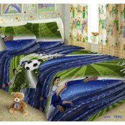 Детское постельное белье Юный футболист