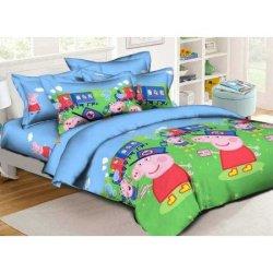 Детское постельное белье «Железнодорожники»