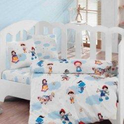 Комплект в кроватку Masal Dunyasi Bordo