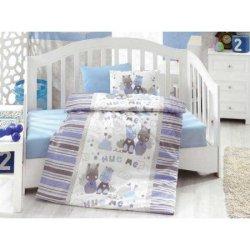 Комплект в кроватку Midilli Mavi