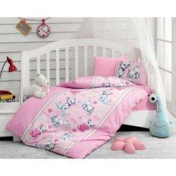 Комплект в кроватку Miyav Pembe