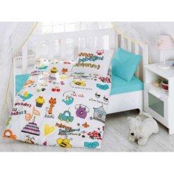 Комплект в кроватку Mutlu Bebek Beyaz