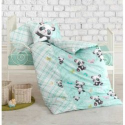 Комплект в кроватку Panda Mint