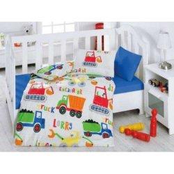 Комплект в кроватку Santiye Mavi