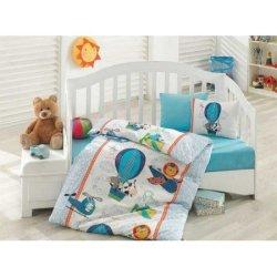 Комплект в кроватку Ucan Dostlar Mavi