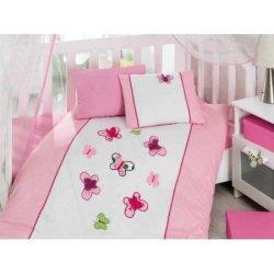 Комплект в кроватку Kelebek Pembe