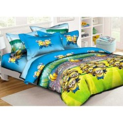 Детское постельное белье «Миньоны»